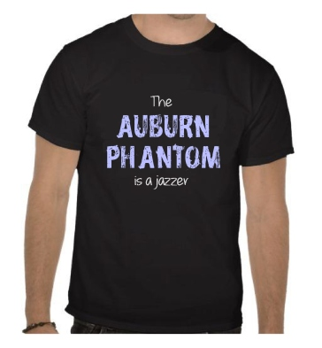tee shirt auburn is a jazzer