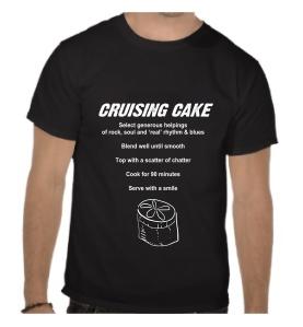 Tee shirt - cruising cake