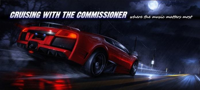 Cruising with The Commissioner - poster
