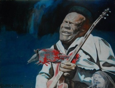 Freddie King painting 2