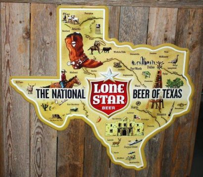 Lone Star Beer - The national beer of Texas